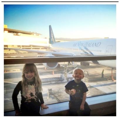 Giada & Gino Pre 14 hr Flight