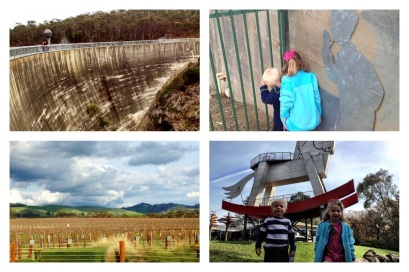 Whispering Wall, Jacobs Creek Borossa Valley, Worlds Largest Rocking Horse